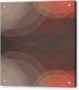 Mechanic Semi Circle Background Horizontal Acrylic Print