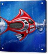 Mechanical Fish 1 Screwy Acrylic Print