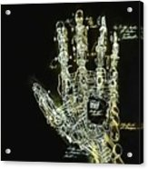 Mechanical Hand Acrylic Print
