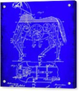 Mechanical Horse Patent Art 1b           Acrylic Print