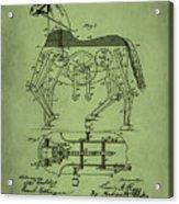 Mechanical Horse Patent Art 1p Acrylic Print