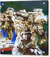 MED EVAC battle for fallujah iraq Acrylic Print