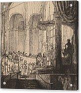 Medea, Or The Marriage Of Jason And Creusa Acrylic Print