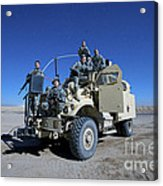 Medical Personnel Pose For A Group Acrylic Print