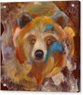 Medicine Bear Acrylic Print