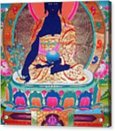 Medicine Buddha 11 Acrylic Print