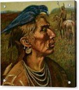 Medicine Crow Indian Acrylic Print