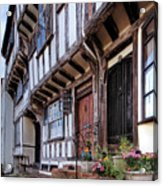 Medieval British Architecture - Dick Turpin's Cottage Thaxted Acrylic Print