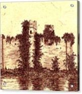 Medieval Castle Acrylic Print