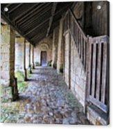 Medieval Church Entrance Acrylic Print