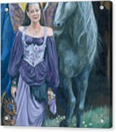 Medieval Fantasy Acrylic Print