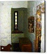 Medieval Monastic Cell Acrylic Print