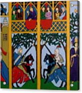 Medieval Scene Acrylic Print