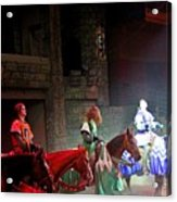 Medieval Times Dinner Theatre In Las Vegas Acrylic Print