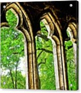 Medieval Triptych Acrylic Print