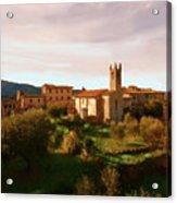 Medieval Tuscany Acrylic Print