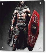 Medieval Warrior - 13 Acrylic Print