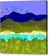 Medina River Acrylic Print