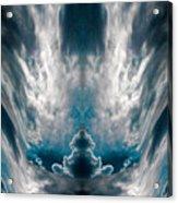 Meditating Cloud - 1 Acrylic Print
