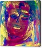 Meditating On Love Acrylic Print