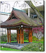 Meditation Pagoda Acrylic Print
