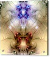 Meditative Symmetry 3 Acrylic Print