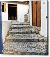 Mediteranean Old House Acrylic Print