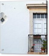 Mediterranean Balcony Acrylic Print