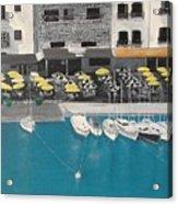 Mediterranean Harbour Acrylic Print