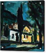 Mediterranean Night Acrylic Print