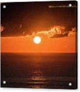 Mediterranean Sunrise Acrylic Print