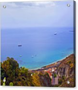 Mediterranean View Acrylic Print