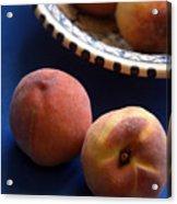 Mediterrannean Peaches Acrylic Print