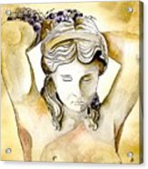 Meditrina Goddess Of Wine Acrylic Print