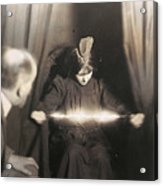 Medium During Seance 1912 Acrylic Print