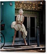 Meet Marilyn Acrylic Print