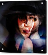 meet Stella Sue Acrylic Print