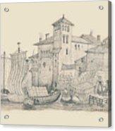 Meeting At The Docks Classics 2 Acrylic Print