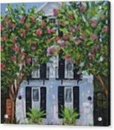 Meeting Street In Bloom Acrylic Print