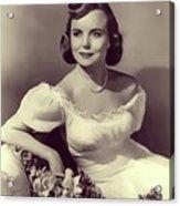 Meg Randall, Vintage Actress Acrylic Print
