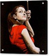 Meg White Acrylic Print