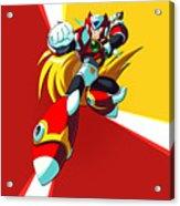 Mega Man X Acrylic Print