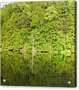 Mega Reflections Panorama Acrylic Print