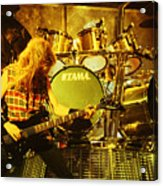 Megadeath 93-david-0364 Acrylic Print