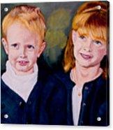 Megan And Justin Acrylic Print