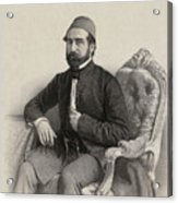 Mehmed Cemil Bey Acrylic Print
