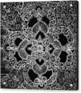 Mehndi  Acrylic Print