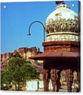 Mehrangarh Fort - Approach With Caution Acrylic Print