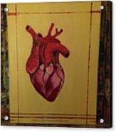 Mein Herz My Heart Acrylic Print