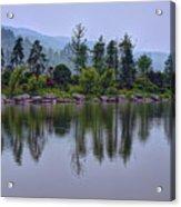 Meitan County Reflection - Guizhou, China Acrylic Print